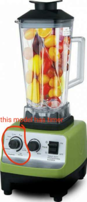 40%OFF:BLENDER COMMERCIAL 1800W MULTI FONCTION 10 vitesses MINUTEUR.