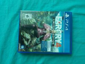 Far cry 4 limited edition - Other Indoor Sports & Games on Aster Vender