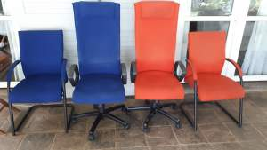 Sets of desk & Visitor chairs for office - Desk chairs on Aster Vender