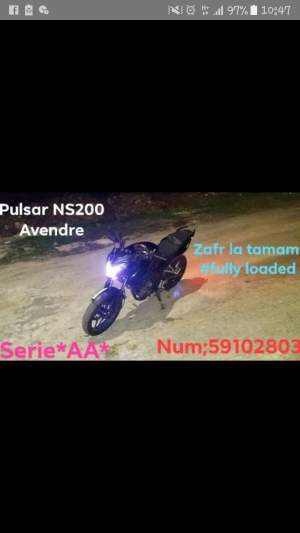 Pulsar NS200 - Sports Bike on Aster Vender