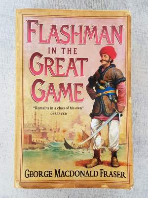 FLASHMAN in the great game - Fictional books on Aster Vender