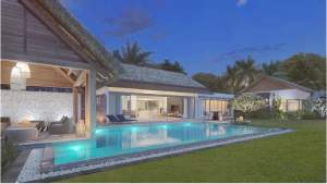 Tamarin sale villas PDS accessible to foreigners