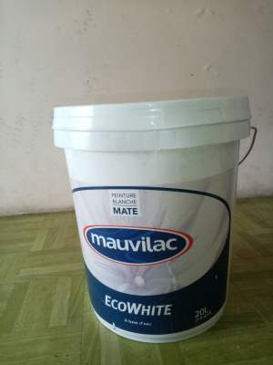 WHITE PAINT MAUVILAC 20 L - Interior Decor on Aster Vender