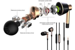 1 More Triple Driver In-Ear Earphones - All electronics products on Aster Vender