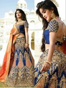 Semi stitched lehenga - Dresses (Women) on Aster Vender