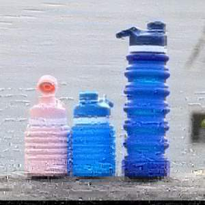 Silicone collapsible water bottle  - Health Products on Aster Vender