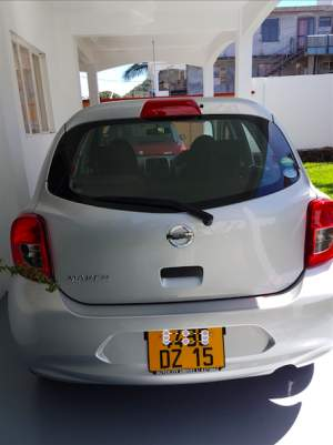 NISSAN MARCH 2015 - Compact cars on Aster Vender