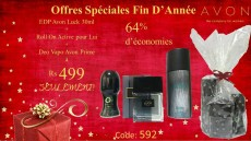 Avon Luck + Roll On + Deo BIG DISCOUNT - Perfume on Aster Vender