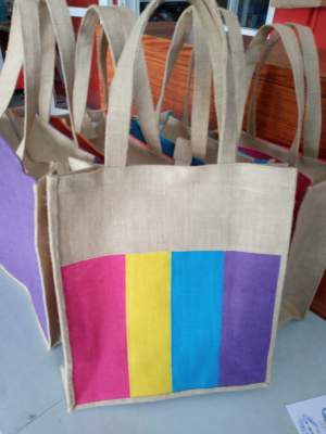 Jute shopping bag - Creative crafts on Aster Vender