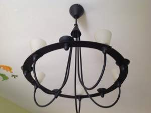 Colonial iron Chandelier  - Interior Decor on Aster Vender