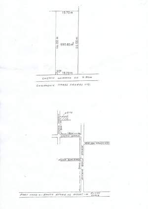 Land of 16 perches is for sale in Pamplemousses - Land on Aster Vender
