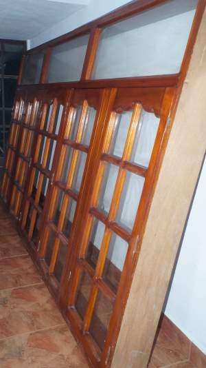 WOODEN WINDOW - 5.64FT X 8.103FT - Other Decorations on Aster Vender