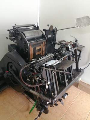 COMPLETE PRINTING PRESS - Press machine on Aster Vender