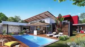 Tamarin villa de luxe au cœur d'une nouvelle ville en bord de rivière  - House on Aster Vender