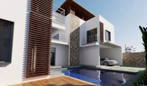 Trou Aux Biches  projet de 4 ravissantes villas proche de la plage  - Villas on Aster Vender