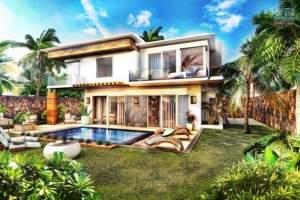 A vendre villas F4 avec piscine à Grand Baie - Villas on Aster Vender