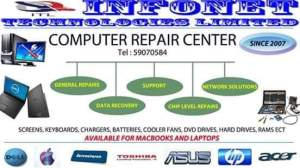 Laptop Repairs - Computer repairs on Aster Vender