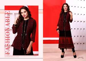 DESIGNER KURTI SAYONEE - Indian dresses on Aster Vender