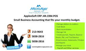MICROAGE SYSTEMS LTD- THE IT SOLUTION EXPERTS - Computer repairs on Aster Vender