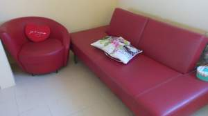canape et 2 fauteuils - Sofa bed on Aster Vender