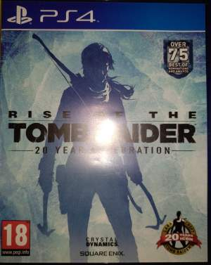 Rise of the Tomb Raider (20 year celebration) - PS4, PC, Xbox, PSP Games on Aster Vender