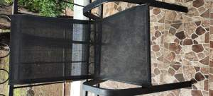 Patio Table & 4 Chairs - Chairs on Aster Vender