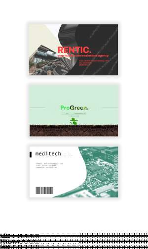 Business Cards - Graphic design on Aster Vender