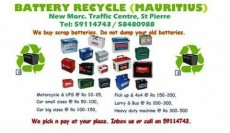 We pay you for your scrap batteries