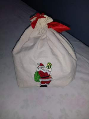 Eco embroidered Christmas Giftbag(40% Discount!!!) - Other Crafts on Aster Vender