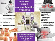 Ne souffrez plus! Huile essentielle BIO de France - Massage products on Aster Vender