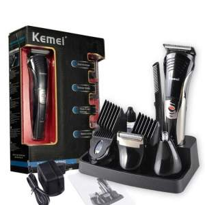 KEMEI 590A 7 In 1 Electric Trimmer Kit - All electronics products on Aster Vender
