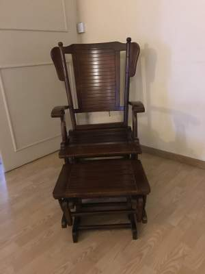 Ricking chair with foot rest - Dining Chairs on Aster Vender
