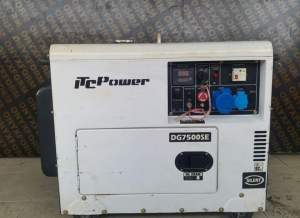 Generator 6.3 kVa diesel for rent - Events on Aster Vender