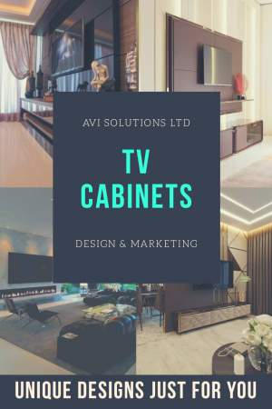 NEW MODELS TV CABINET - Home repairs & installation on Aster Vender