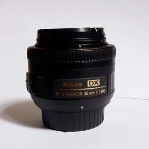 Objectif Nikon AF-S DX NIKKOR 35mm f/1.8G - All Informatics Products on Aster Vender