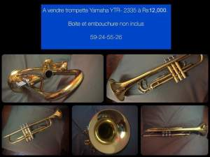 Trumpet YTR-2335 - Trumpet on Aster Vender