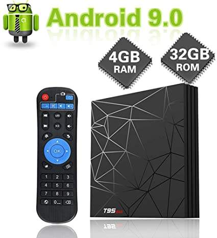 TV Box T95 Max Android 9.0 6K Ultra HD