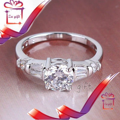 Female : 18 K Silver Filled  Ring