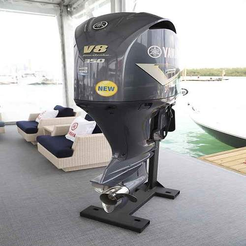 Free Shipping Used Yamaha 350 HP 4 Stroke Outboard Motor Engine