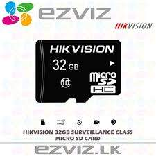 Ezviz Memory Card - All electronics products at AsterVender
