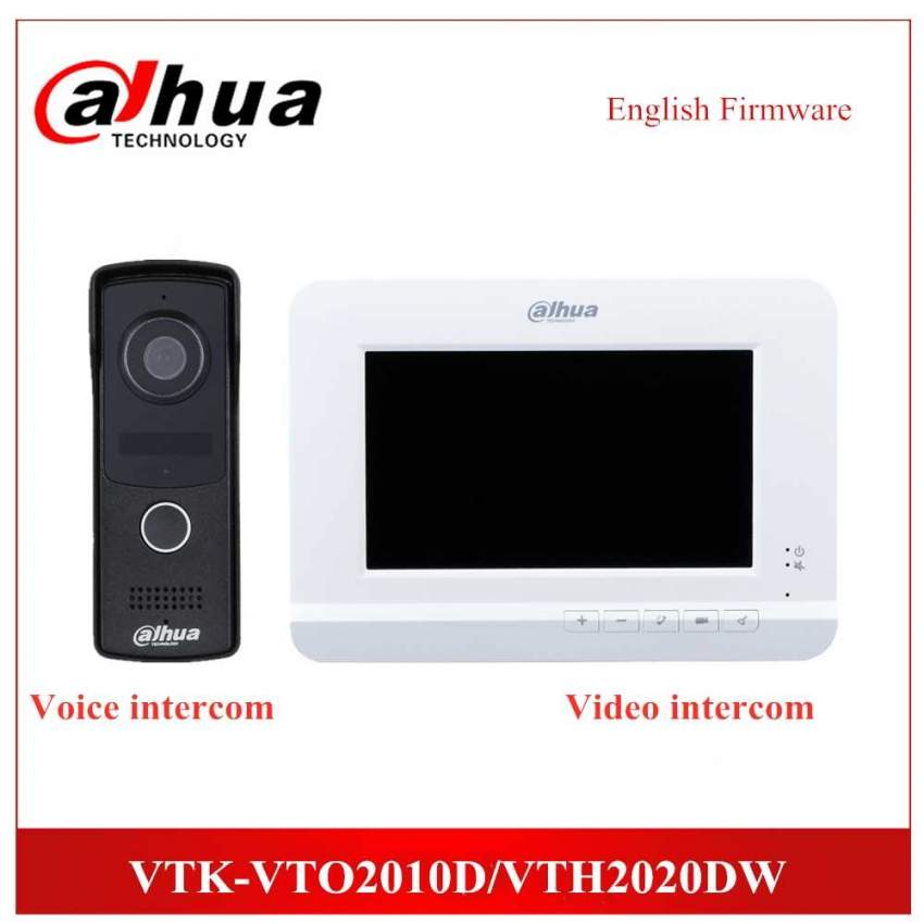 Dahua Videocom 4-Wire Video Intercom KIT
