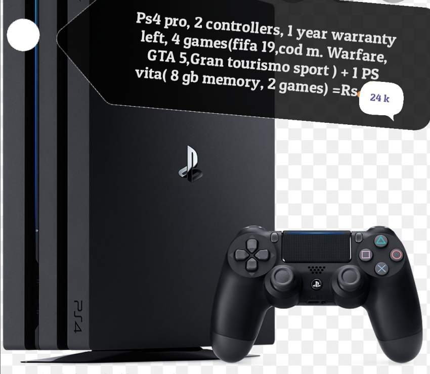 PS4 PRO + PS VITA