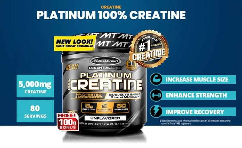 Creatine muscletech