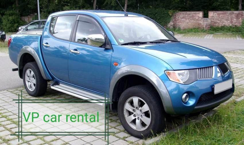 Mitsubishi L200 for rent - Pickup trucks (4x4 & 4x2) at AsterVender