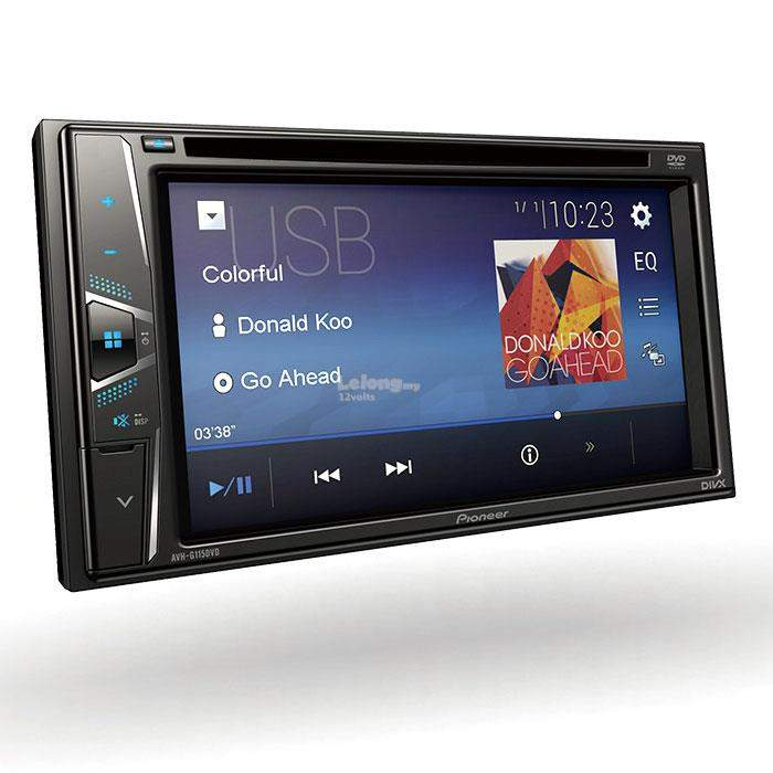 Pioneer DVD Multimedia AV Receiver with Touchscreen