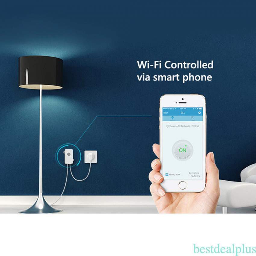 Smart Control Switch with Smartphone