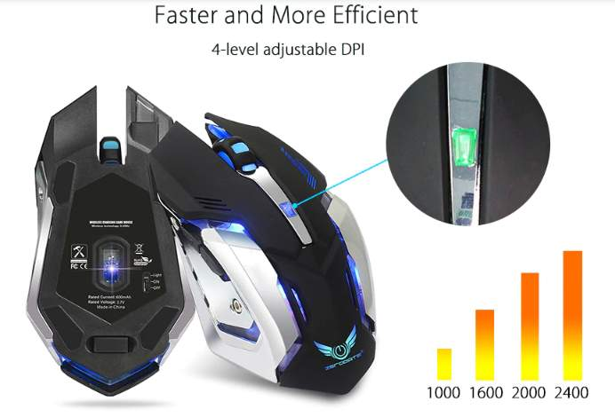 Wireless Gaming Mouse for pro gamers