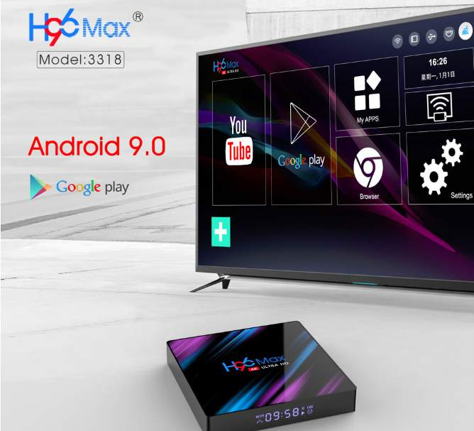 Smart TV BOX MAX Android 9.0 4GB+64GB - TV Box on Aster Vender