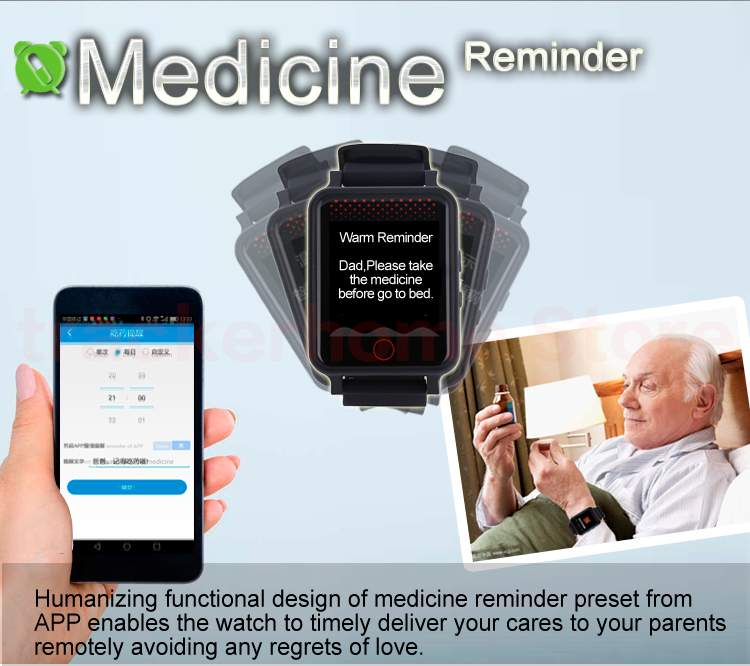 Smart Watch With GPS System,Heart Rate, Blood Pressure - Smartwatch at AsterVender