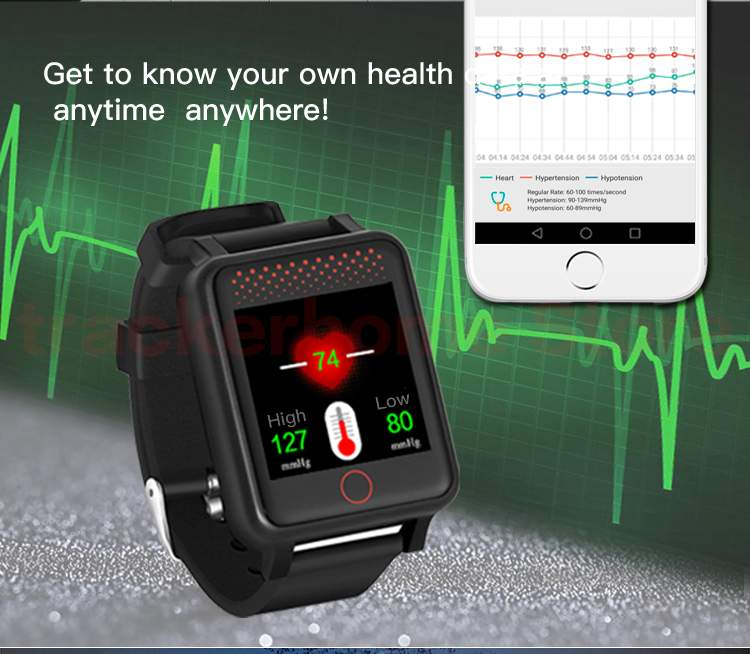 Smart Watch With GPS System,Heart Rate, Blood Pressure